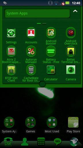 【免費個人化App】Go Launcher - Beta Green-APP點子