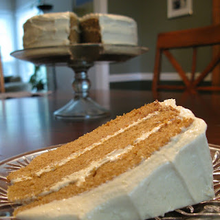 Paleo Spice Cake with Maple-Cashew Frosting