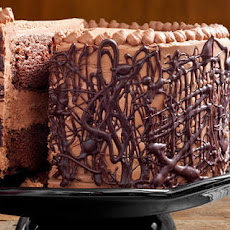 Chocolate Cake with Whipped Fudge Filling and Chocolate Buttercream Recipe