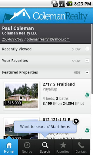 Coleman Realty - Pierce County
