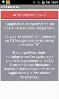 Screenshot of Accréditeur 3G (FreeMobile)