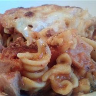 Ham and Cheese Pasta Bake