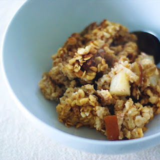 Baked Oatmeal with Pears