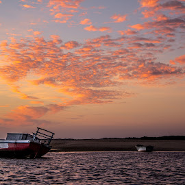 Galinhos' sun rises by Silvana Schevitz - Landscapes Sunsets & Sunrises