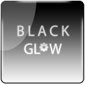 Black Glow Go Launcher Theme icon