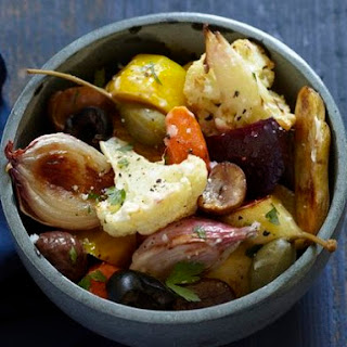 Glazed Winter Vegetable Medley With Chestnuts and Caper Berries From 'Feast'