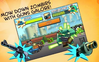 Screenshot of No Zombies Allowed