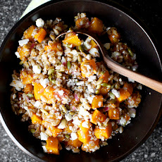 Butternut Salad with Farro, Pepitas and Ricotta Salata