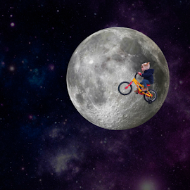 Dream! by Florindo Silva - Digital Art Things ( moon, dream, digital art, things, digital-art, people )