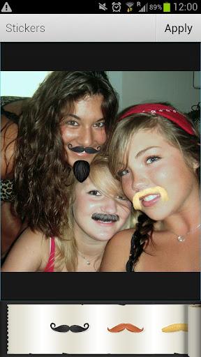 アヴィアリー ステッカー:口髭