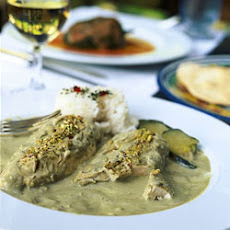 Chicken with Pumpkin Seed Sauce