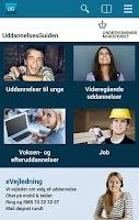 Screenshot of UddannelsesGuiden
