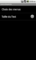 Screenshot of AndroDepeche