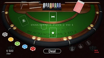 Screenshot of BlackJack - Vegas Casino Cards