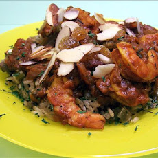 Barbados Shrimp Curry