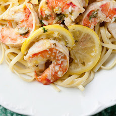 Lemon Shrimp Scampi with Linguine