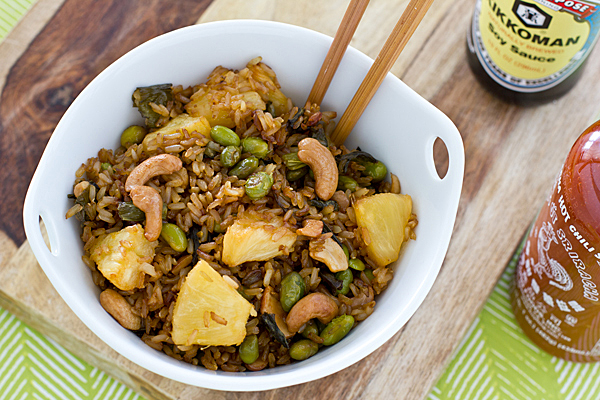 baked fried brown rice from oh my veggies added by nicole 46