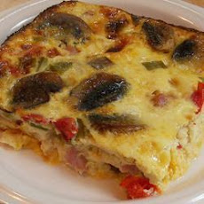 Ham, Cheese and Egg Bake