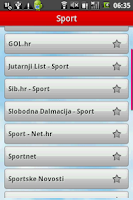 Screenshot of PortalGate HR, Novosti i Sport