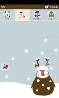 Screenshot of Pepe-christmas kakaotalk theme