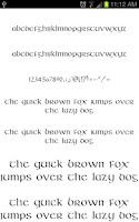 Screenshot of OldEng Fonts for FlipFont free