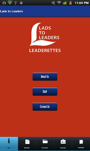 Lads to Leaders Leaderettes