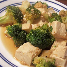 Sa Cha Tofu With Broccoli and Cauliflower