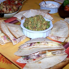 Baked Crab Quesadillas Appetizers