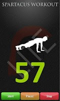 Screenshot of Spartacus Workout Lite