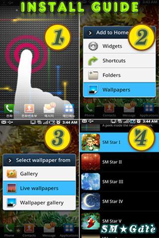 【免費個人化App】星光闪烁梦幻动态壁纸II-APP點子
