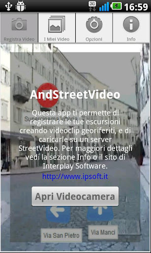 AndStreetVideo recorder
