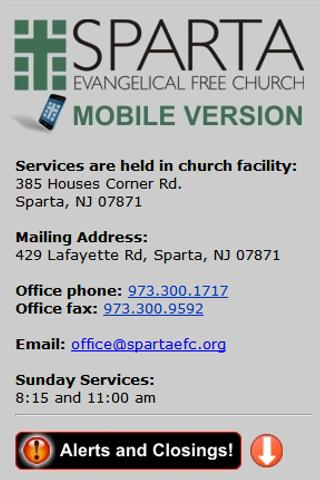 Sparta Evangelical Free Church