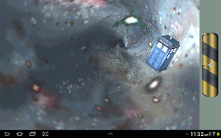 Screenshot of Doctor Who AR Tardis