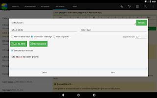 Screenshot of Gardenate