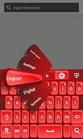 Screenshot of Keyboard Red