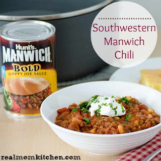 Southwestern Manwich Chili and Giveaway