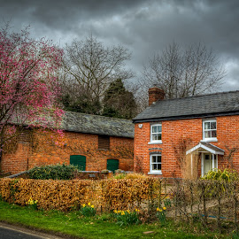 Farm House by Nick Foster - Buildings & Architecture Homes ( farm, old, village, trees, house )