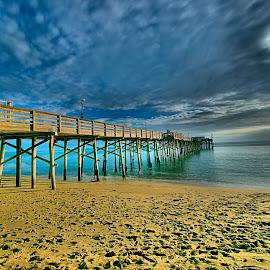 Balboa Pier by Jose Matutina - Buildings & Architecture Bridges & Suspended Structures ( california, balboa pier, newport beach )