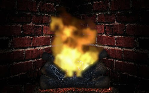 Relax Romance Fireplace App HD - screenshot