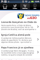 Screenshot of Rádio Novo Tempo 630 AM