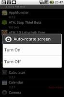 Screenshot of Smart Rotator
