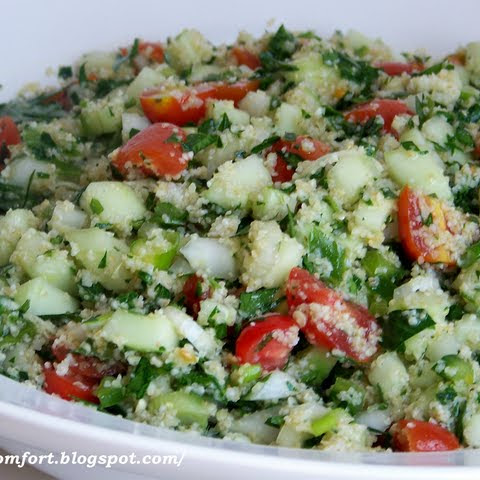 Tabbouleh- Middle Eastern Salad