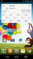 Screenshot of Galaxy S4 Theme HD Free