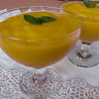 Tropical Mango Mousse