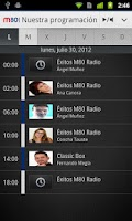 Screenshot of M80 Radio para Android