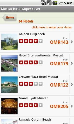 Muscat Oman Hotel Super Saver