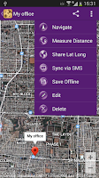 Screenshot of GPS Location Tagging - TagMe
