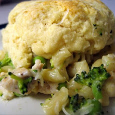 Healthy and Easy Chicken and Biscuits Casserole