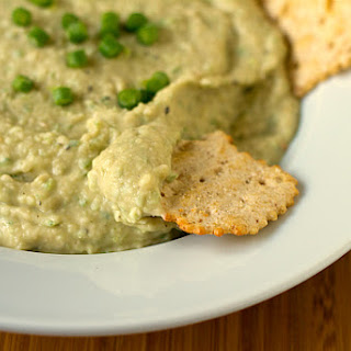 White Bean and Garlic Scape Hummus