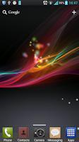 Screenshot of Xperia 2013 Live Wallpaper